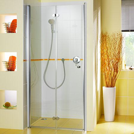 drehfaltt r f r nische 1660 nischen t ren duschkabinen