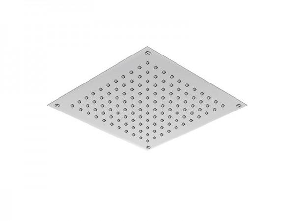 Regenpaneel Grösse 400 x 400 mm Edelstahl poliert