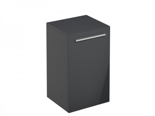 Bad-Wandschrank Graphit Grau Hochglanz 400 x 360 x 660 mm