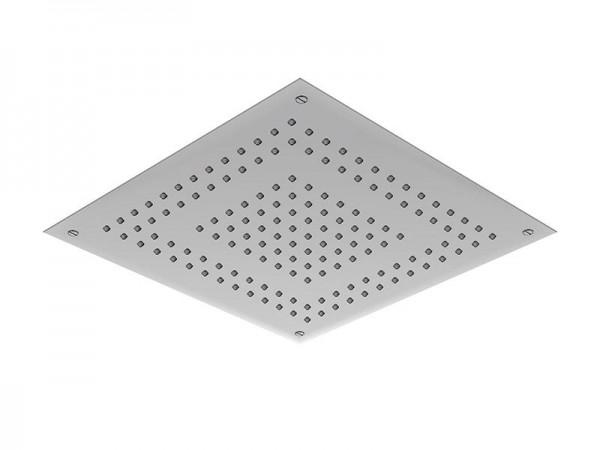Regenpaneel 500 x 500 mm | 2 Strahlarten Edelstahl gebürstet