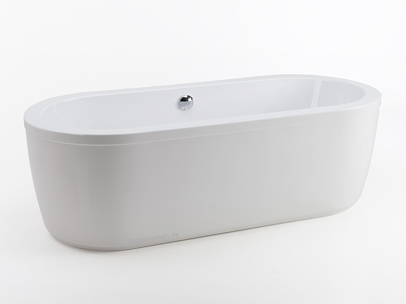 freistehende badewanne rhein 180 x 80 cm. Black Bedroom Furniture Sets. Home Design Ideas