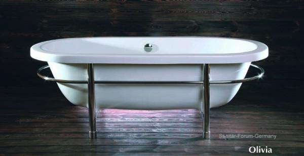 Nostalgie-Retro-Style-Badewanne 175 x 80 cm, Olivia