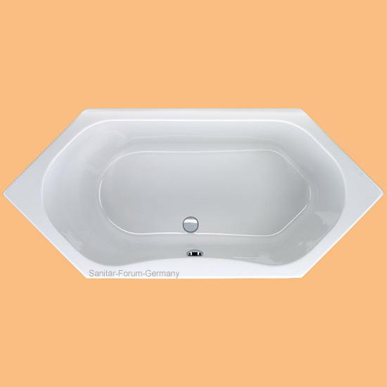 Sechseck badewanne g nstig kaufen for Sechseck badewanne stahl