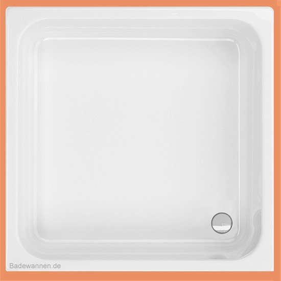 Quadrat-Duschwanne Cola 100 x 100 cm (2020)