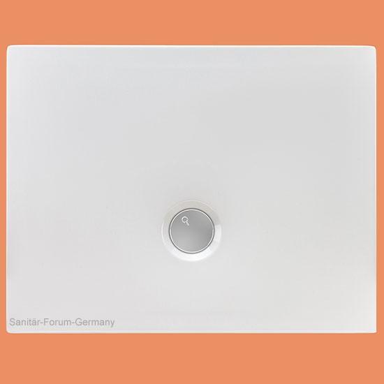 Duschwanne flach Flat 90 x 70 cm (2150)
