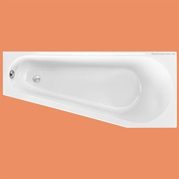 Raumspar-Badewanne Massa rechts 160 x 70 / 40 cm (1222)