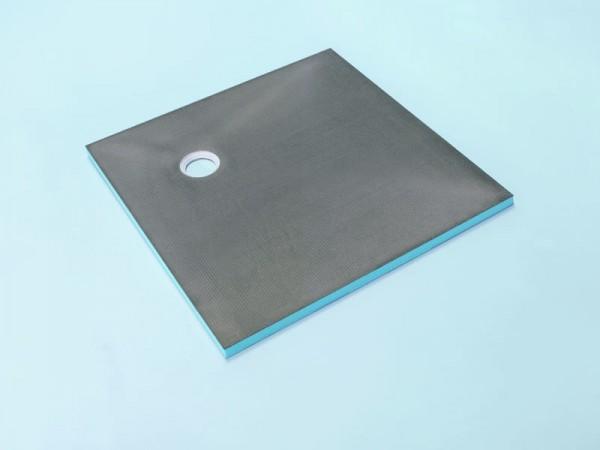 Bodenelement 150 x 150 x 4 cm Ablauf dezentral Nr. 36/175