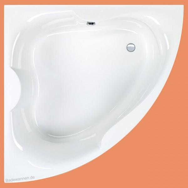 Eck-Badewanne Largo 150 x 150 cm (1032) auch mit Schürze