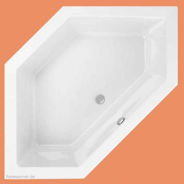 Eck-Badewanne Lupor 145 x 145 cm (1000)
