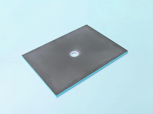 Bodenelement 180 x 90 x 4 cm Ablauf mittig Nr. 35/580