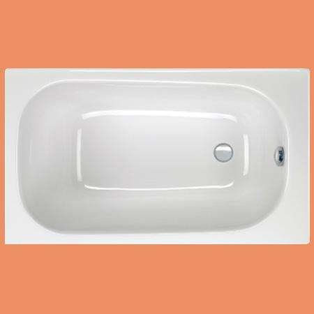 badewanne rechteck pergamon fehmarn 120 x 70 aus acryl online bei. Black Bedroom Furniture Sets. Home Design Ideas