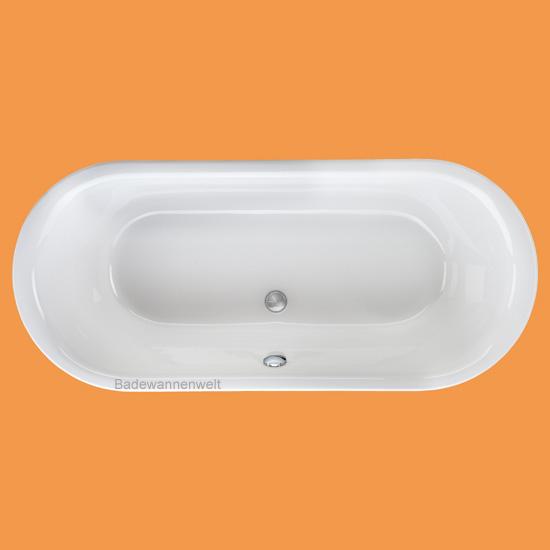 oval badewanne metauro 180 x 80 cm badewannen. Black Bedroom Furniture Sets. Home Design Ideas