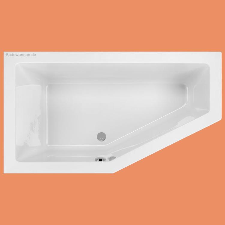 raumspar badewanne lupor links 160 x 90 cm. Black Bedroom Furniture Sets. Home Design Ideas