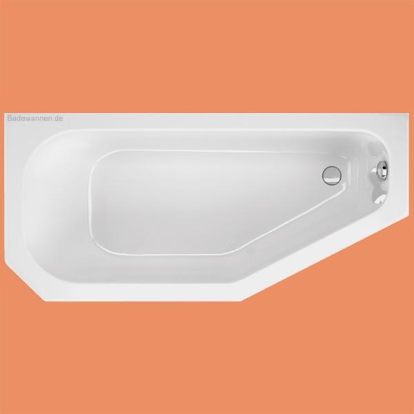 Raumspar-Badewanne Panama li. 160 x 75 cm (1067)