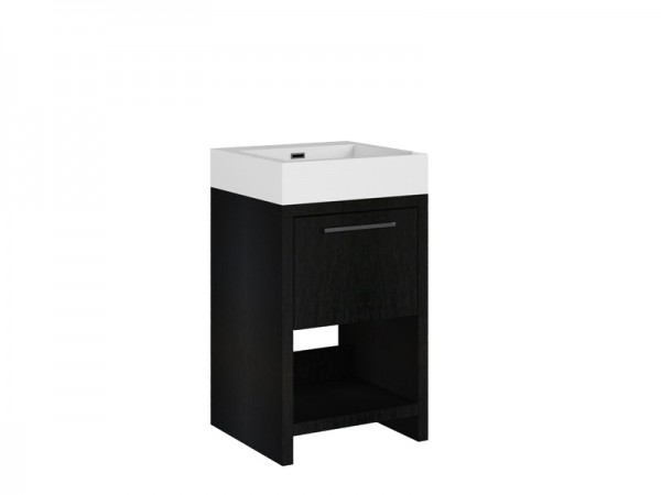 Badmöbel Größe 500 x 480 x 850 mm ohne Hahnloch