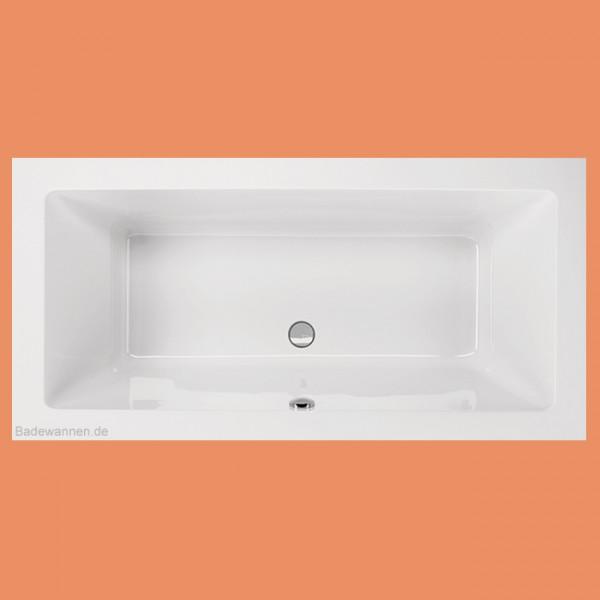 Rechteck-Badewanne Lupor 190 x 80 cm (1007)