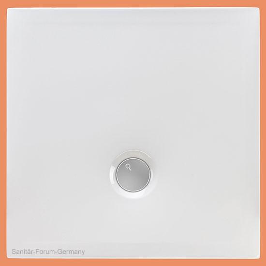 Duschwanne flach Flat 120 x 120 cm (2156)