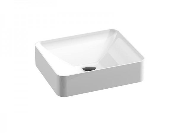 Mineralguss Aufsatz Waschbecken 450 x 380 mm
