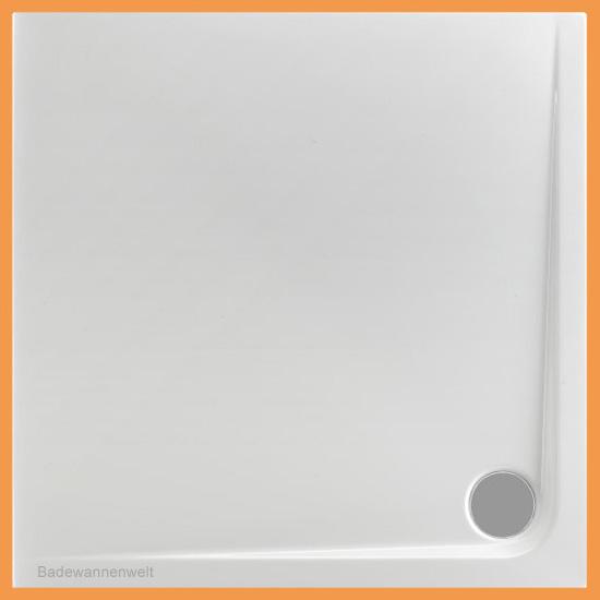 quadrat duschwanne arenal 90 x 90 cm. Black Bedroom Furniture Sets. Home Design Ideas