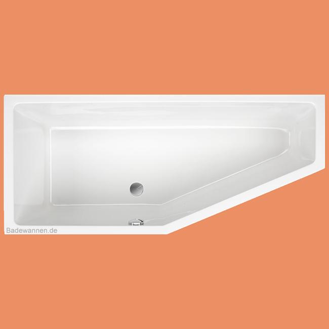 vorwand badewanne 180 x 80 cm links aus acry. Black Bedroom Furniture Sets. Home Design Ideas
