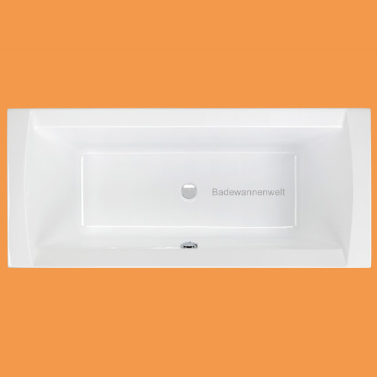 rechteckbadewanne 180 x 80 crown badewanne. Black Bedroom Furniture Sets. Home Design Ideas