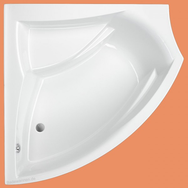 Eck-Badewanne Kana links 150 x 150 cm (1156)