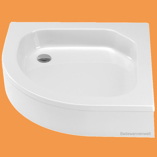 viertelkreis duschwanne cola 80 x 80 cm. Black Bedroom Furniture Sets. Home Design Ideas