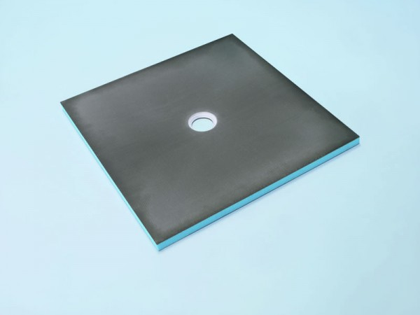 Bodenelement 100 x 100 x 4 cm Ablauf mittig Nr. 35/131