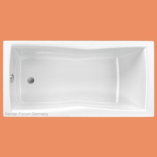 rechteck badewanne bari 150 x 75 cm. Black Bedroom Furniture Sets. Home Design Ideas