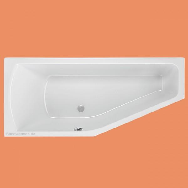 raumspar badewanne lagoon links 160 x 75 cm. Black Bedroom Furniture Sets. Home Design Ideas