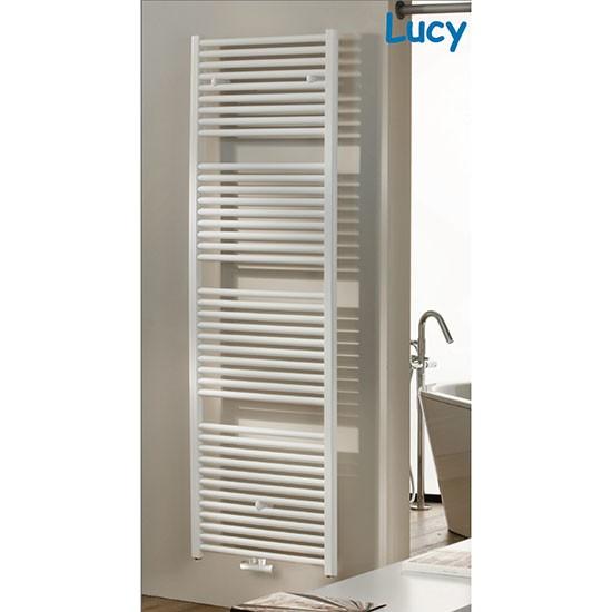 Badheizkörper Lucy gerade Mittelanschluß / Seitenanschluß 150 x 75 cm