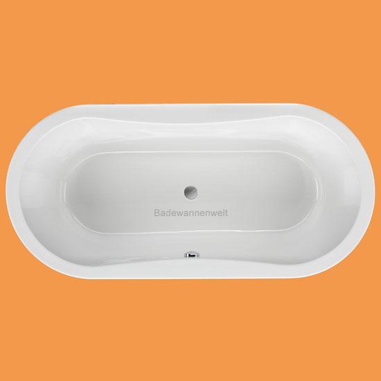 oval badewanne gomera 170 x 75 cm. Black Bedroom Furniture Sets. Home Design Ideas
